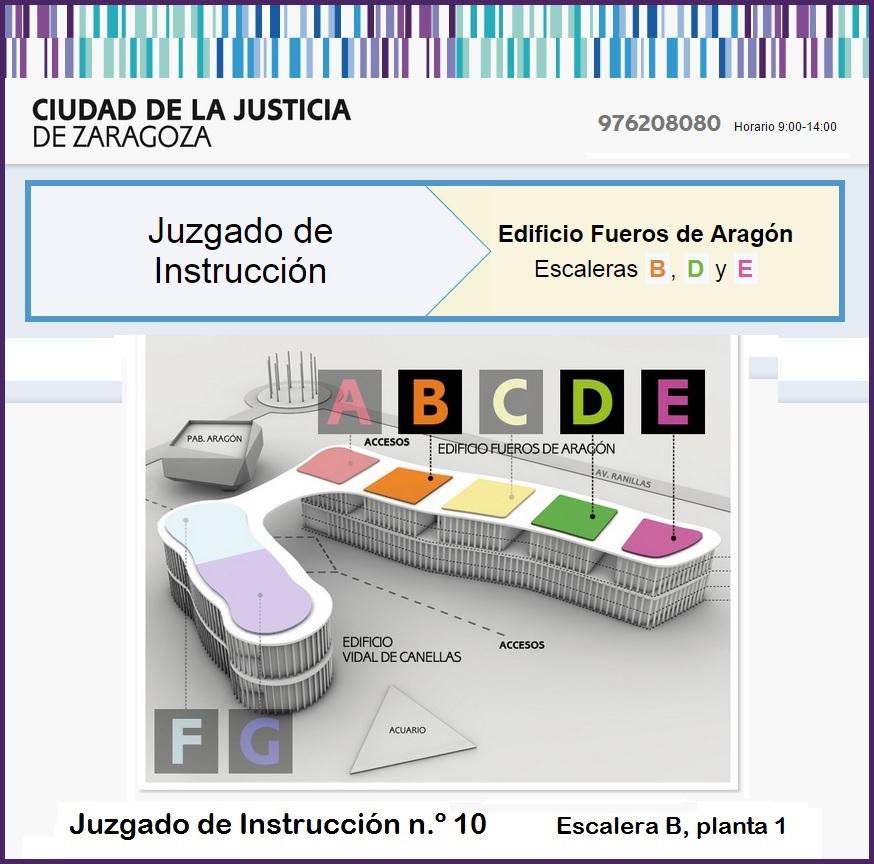 Juzgado de Instrucción nº 10 de Zaragoza